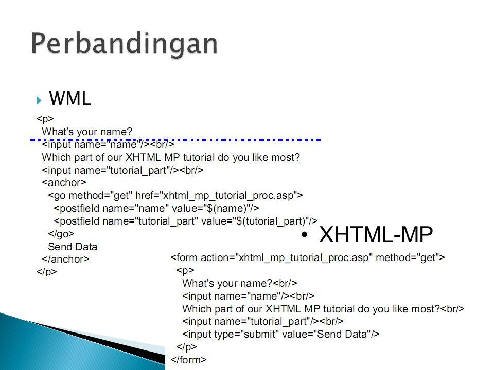  WML XHTML-MP