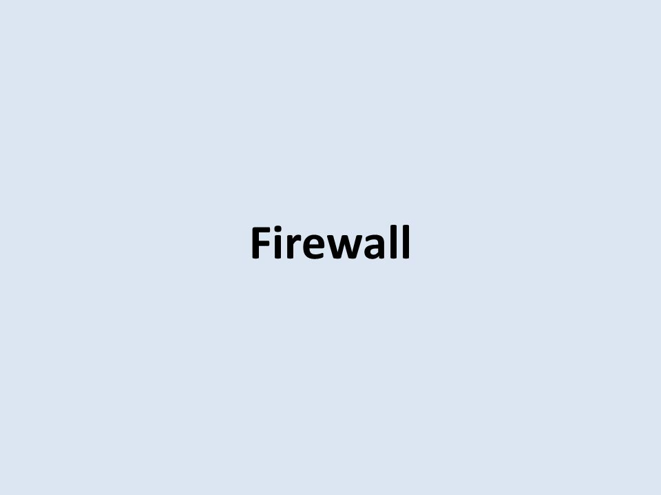 15 Packet Filtering Firewall (jenis attack) IP address spoofing – fake source address – authenticate source routing attacks – attacker sets a route other than default – block source routed packets tiny fragment attacks – split header info over several tiny packets – either discard or reassemble before check