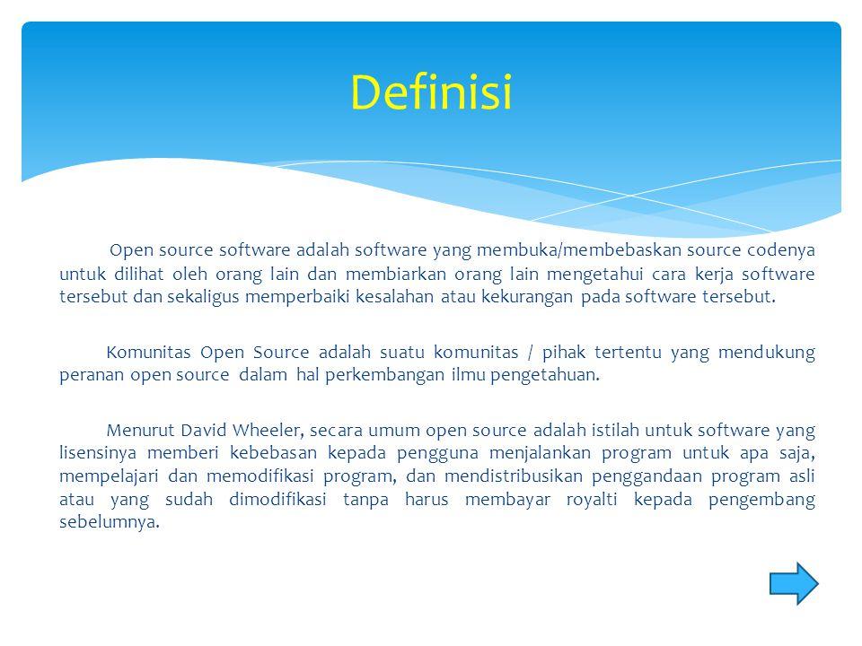 AOSI (Asosiasi Open Source Indonesia) merupakan asosiasi yang menghimpun berbagai organisasi yang bergeliat di bidang open source.