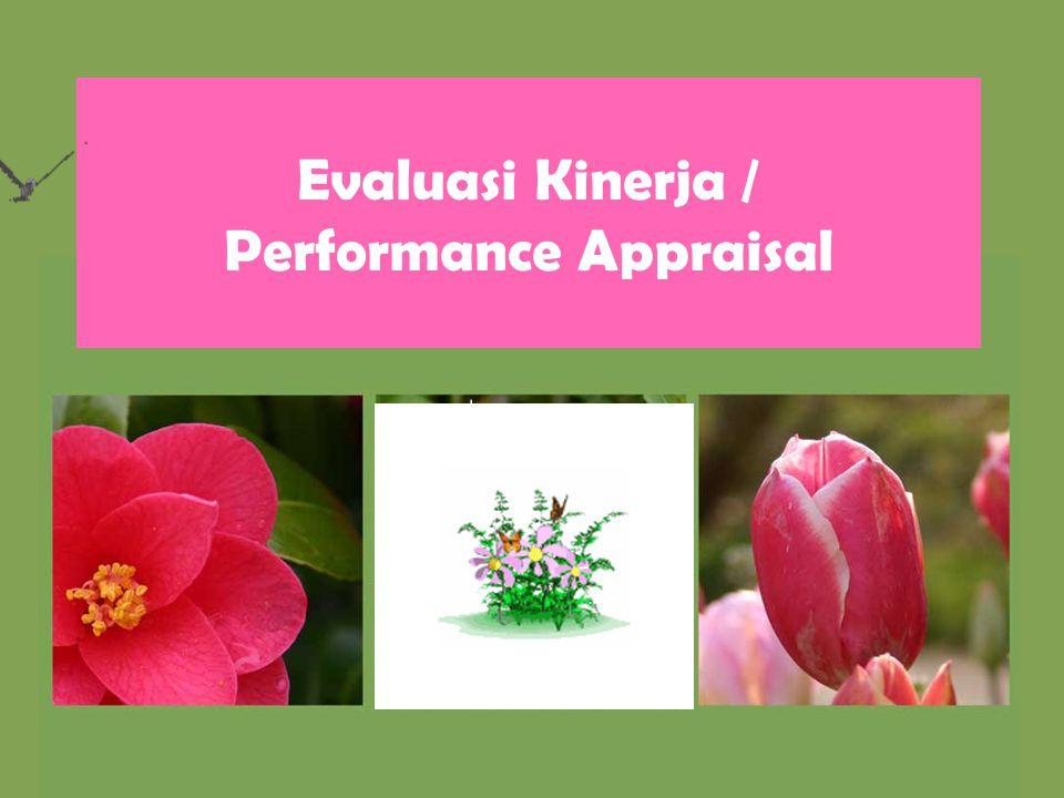 Evaluasi Kinerja / Performance Appraisal
