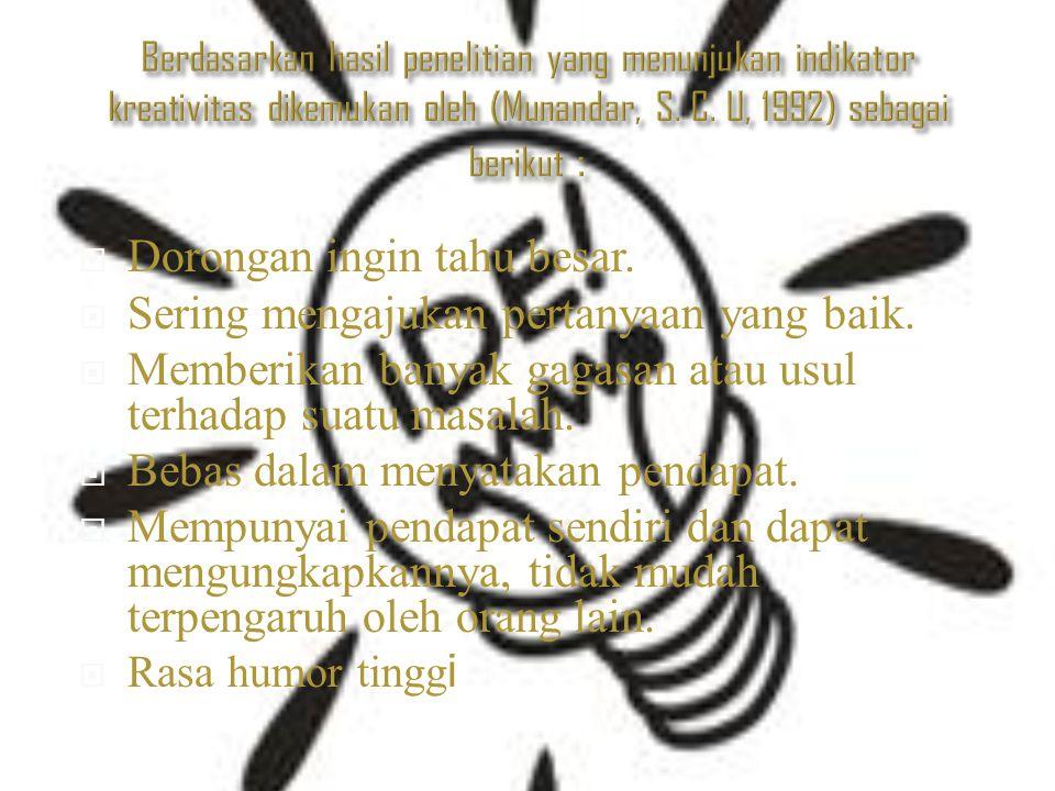  Biarlah kreativiti yang kita punya jangan sampai kita salah gunakan.