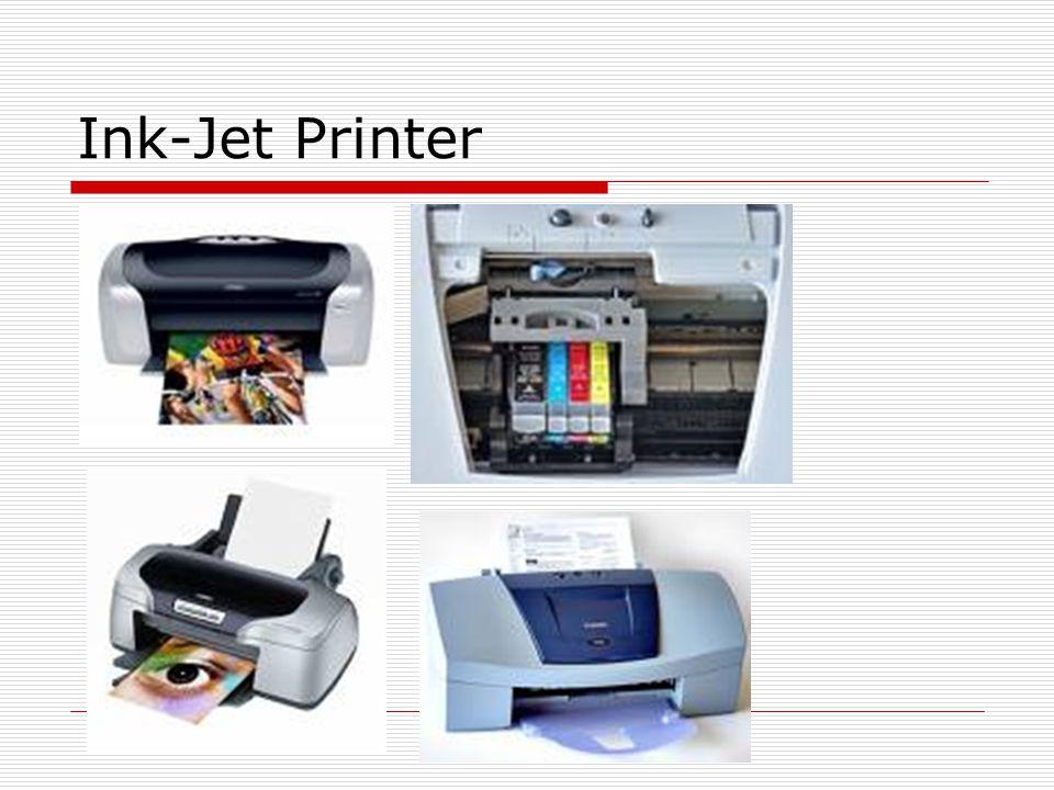 Perinter Laser  Harga relatif mahal  Printer untuk PC memiliki kecepatan 4-25 halaman/menit  Untuk mainframe memimilki kecepatan 229 halaman/menit  Printer laser sering disebut Printer Postscript (bahasa printer yang dikembangkan oleh adobe system yang memungkinkan tulisan di skalakan/ dapat diputar)