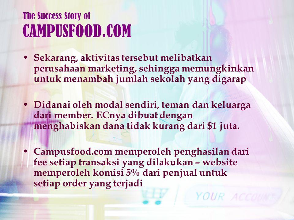 Sekarang, aktivitas tersebut melibatkan perusahaan marketing, sehingga memungkinkan untuk menambah jumlah sekolah yang digarap Didanai oleh modal sendiri, teman dan keluarga dari member.