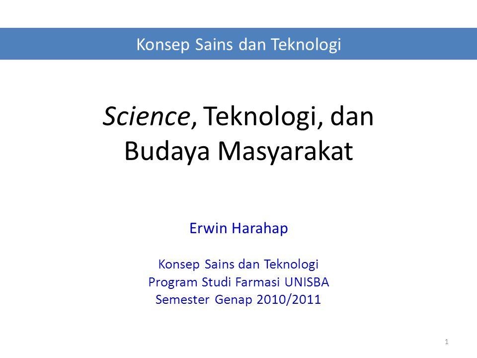 Tentang Science & Teknologi Kegiatannya .Hasil kegiatannya .