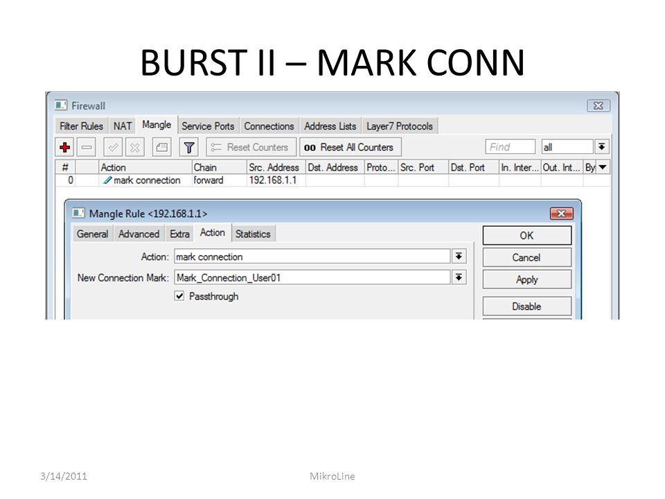 BURST II – MARK CONN 3/14/2011MikroLine