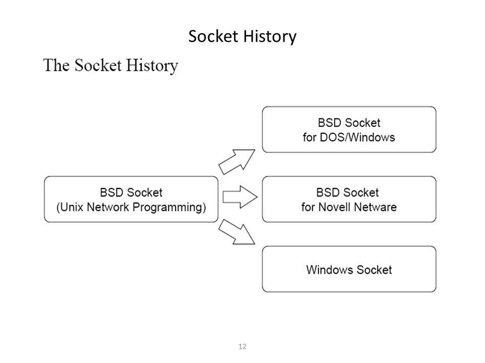 12 Socket History