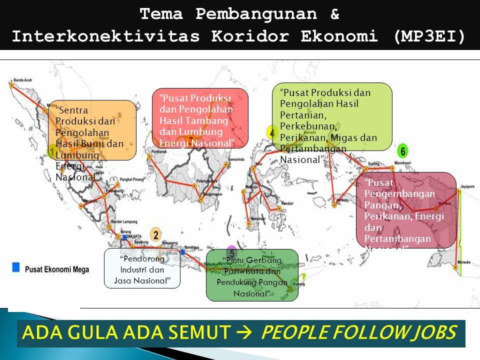 KotaJumlah Penduduk Jakarta9,607,787 Surabaya2,765,487 Bandung2,394,873 Bekasi2,334,871 Medan2,097,610 Tangerang1,798,601 Depok1,738,570 Semarang1,555,984 Palembang1,455,284 Makassar1,338,663 Tangerang Selatan1,290,322 Batam1,137,894 Jumlah Penduduk Perkotaan di 12 Kota Besar di Indonesia, 2010 diproyeksikan sekitar 60% penduduk yang tinggal di perkotaan berada di Jawa Pada tahun 2025.