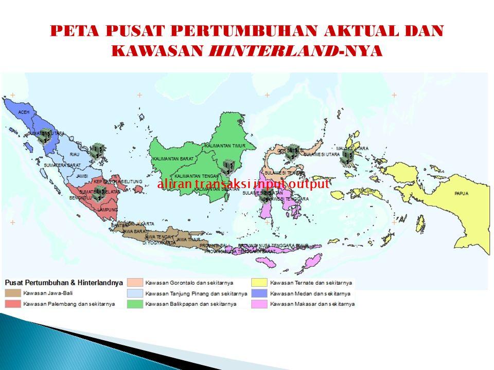 """Tema Pembangunan & Interkonektivitas Koridor Ekonomi (MP3EI) """"Pendorong Industri dan Jasa Nasional"""" """"Sentra Produksi dan Pengolahan Hasil Bumi dan Lum"""