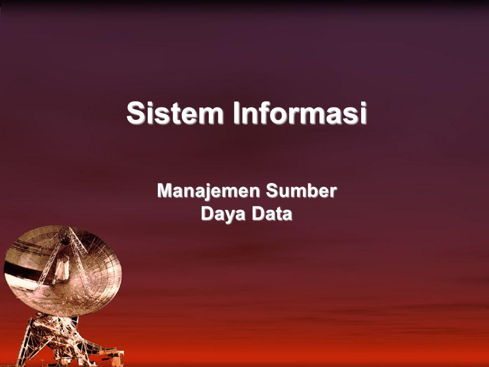 Sistem Informasi Manajemen Sumber Daya Data