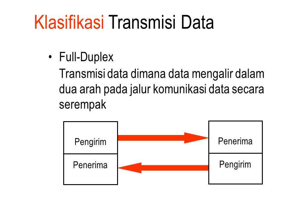 Klasifikasi Transmisi Data 2.