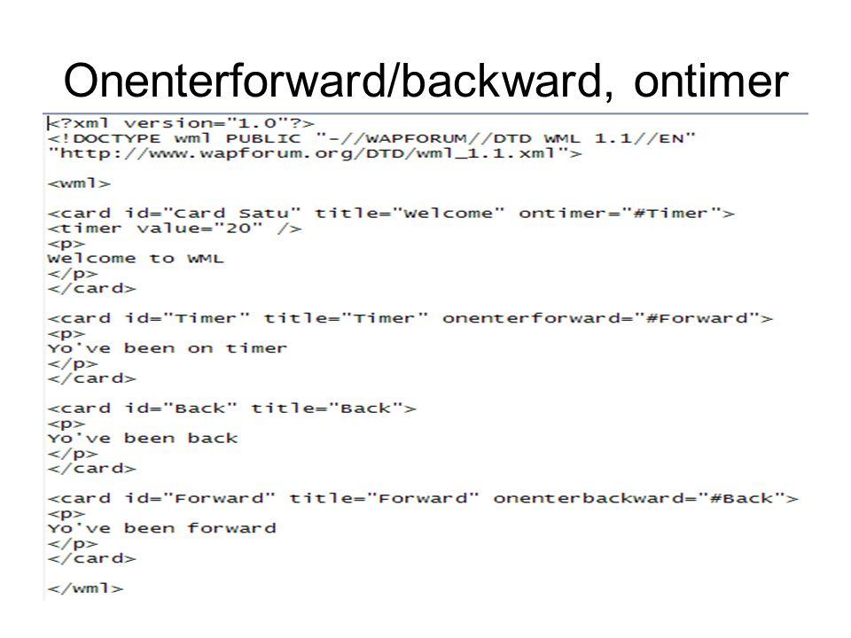 WML text formatting