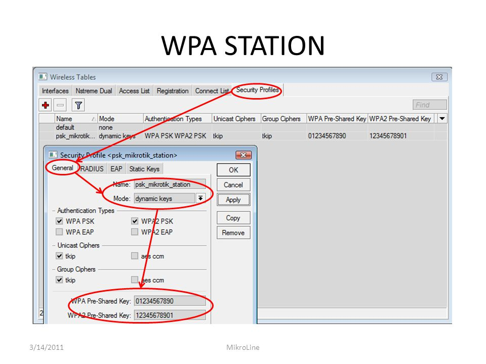 WPA STATION 3/14/2011MikroLine