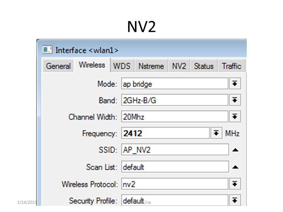 NV2 3/14/2011MikroLine