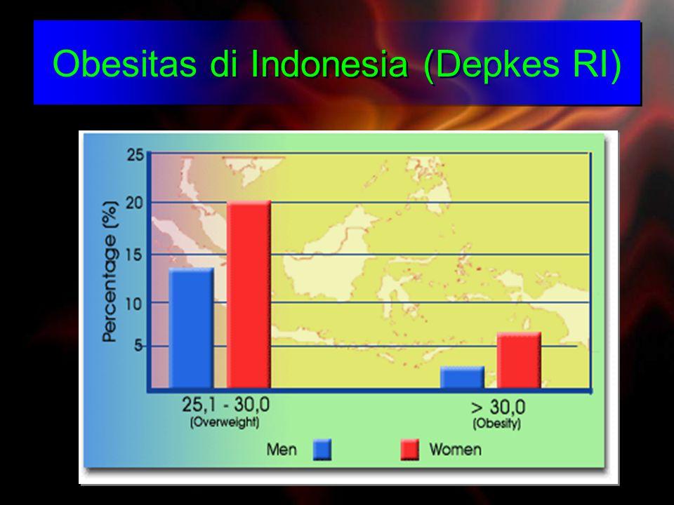 Obesitas di Indonesia (Depkes RI)