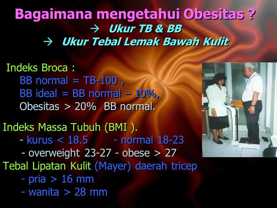 Bagaimana mengetahui Obesitas .