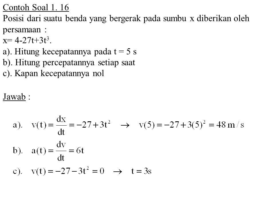 Contoh Soal 1.