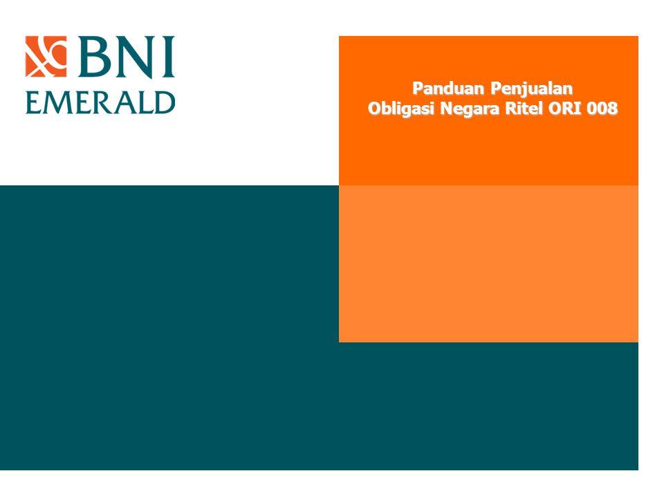 Panduan Penjualan Obligasi Negara Ritel ORI 008