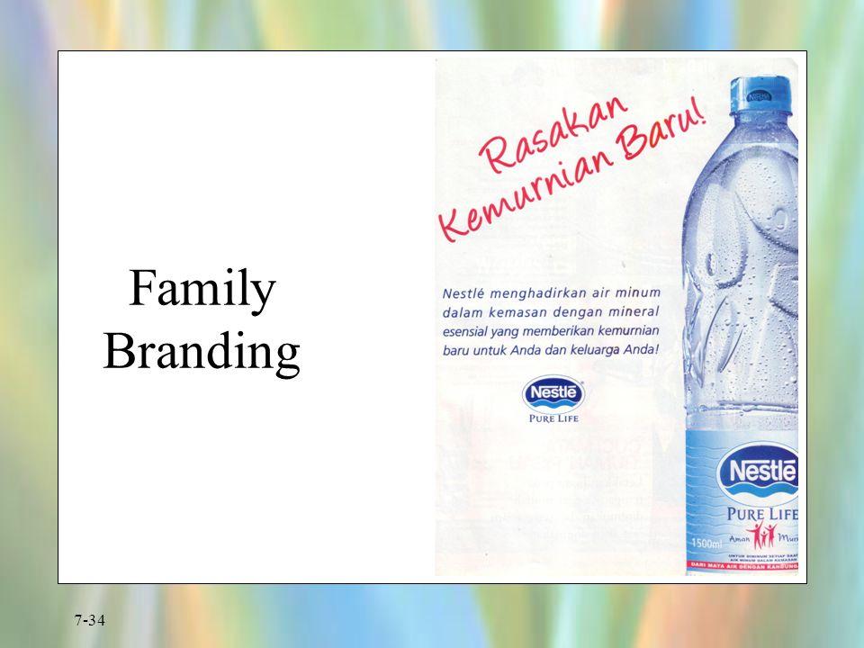 7-34 Family Branding