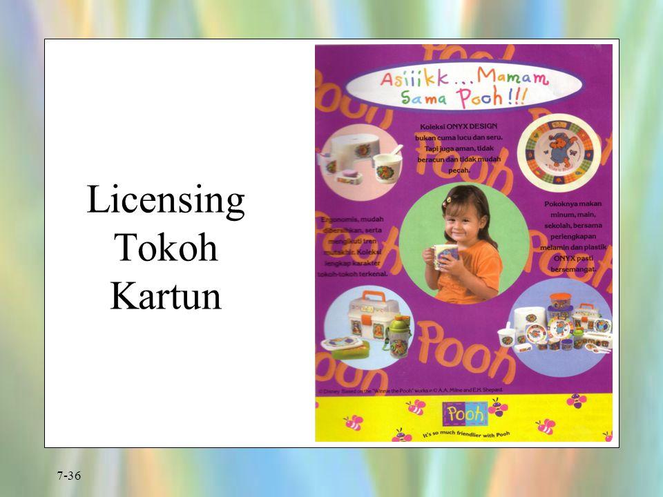 7-36 Licensing Tokoh Kartun