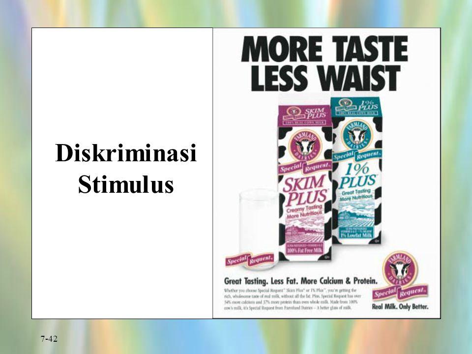 7-42 Diskriminasi Stimulus