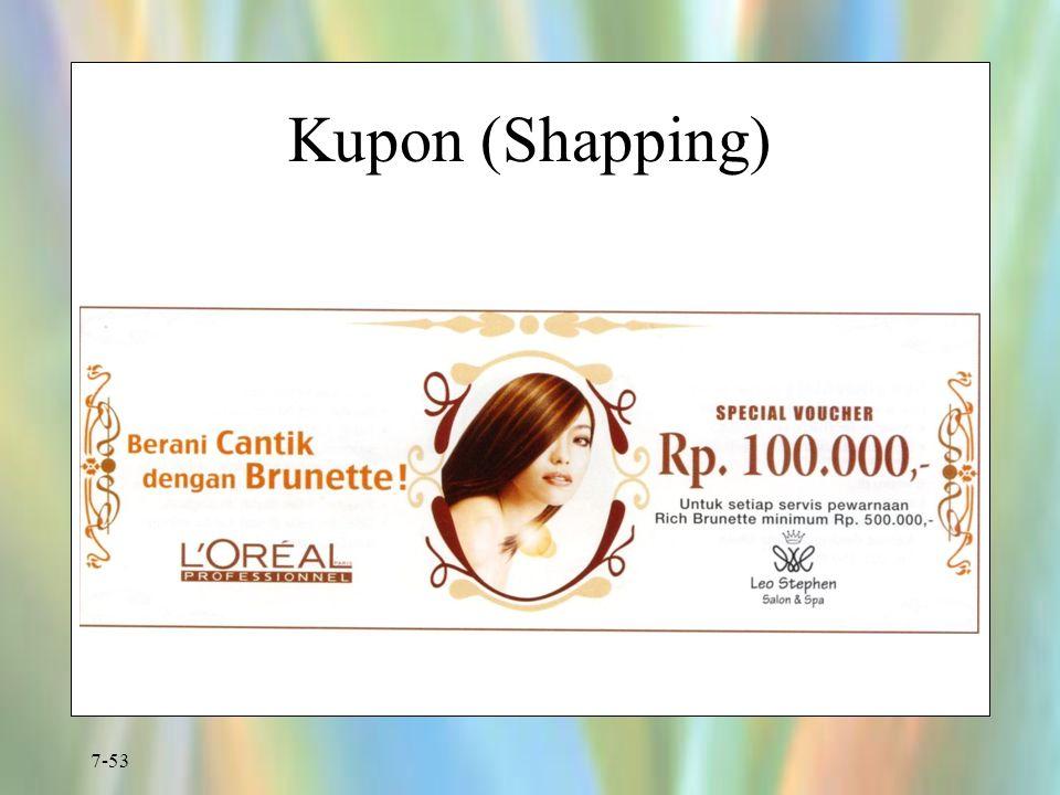 7-53 Kupon (Shapping)