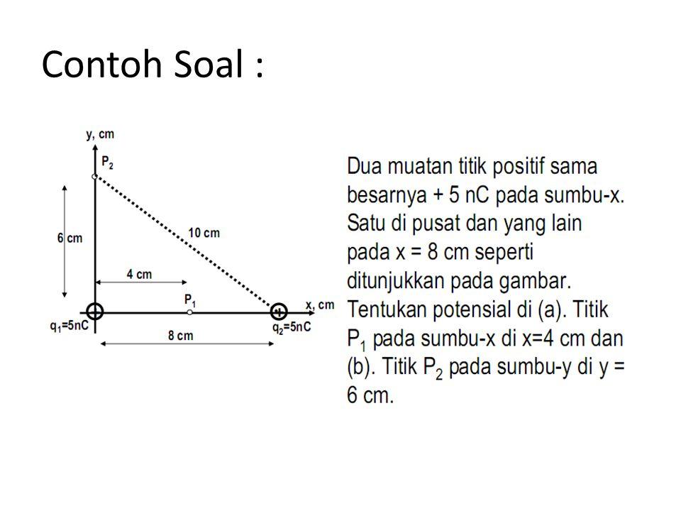 Contoh Soal :