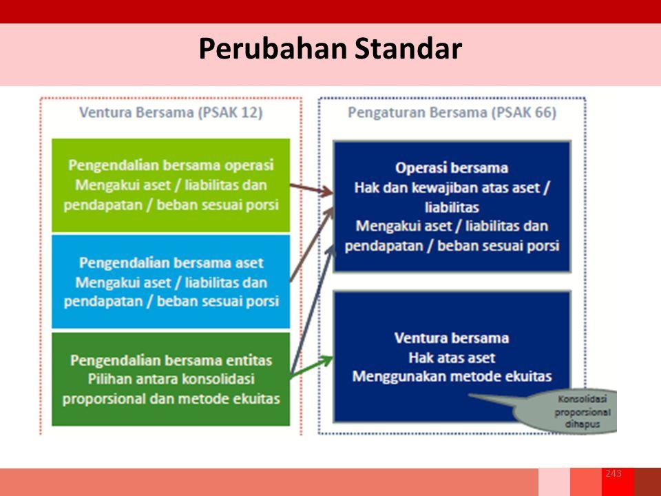 Perubahan Standar 243