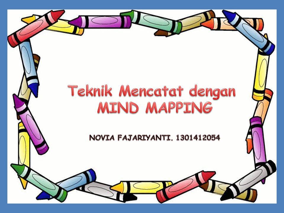 TEKNIK MENCATAT DENGAN MIND MAPPING