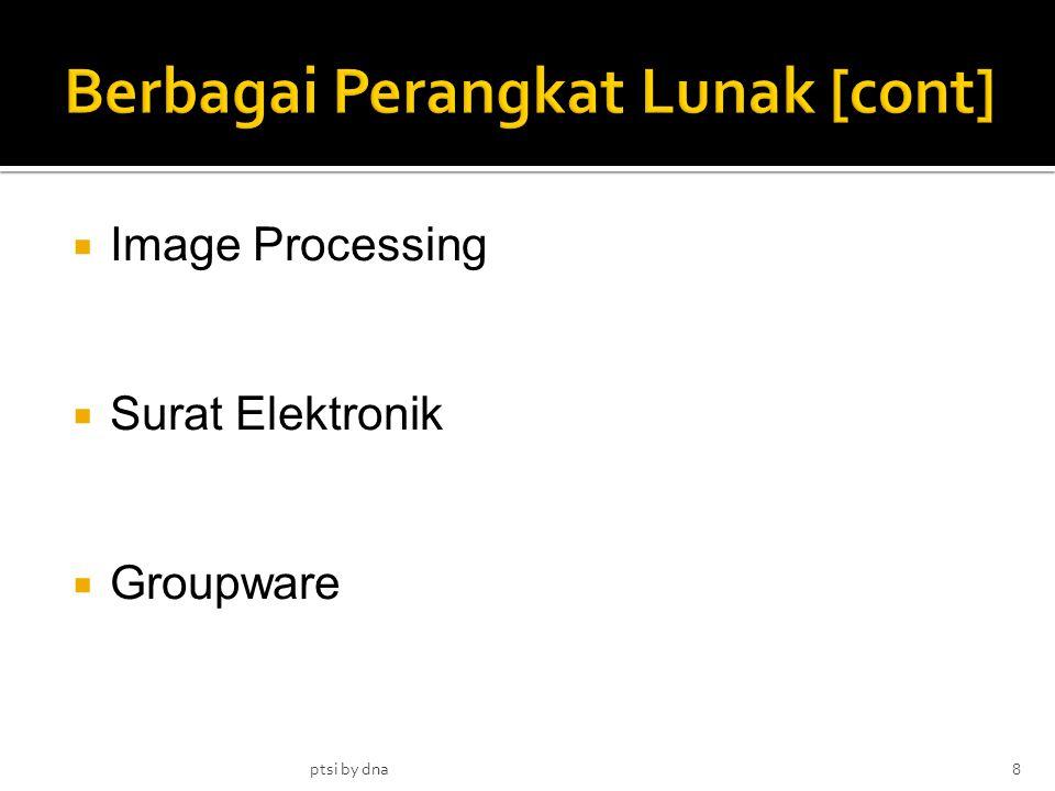  Image Processing  Surat Elektronik  Groupware ptsi by dna8