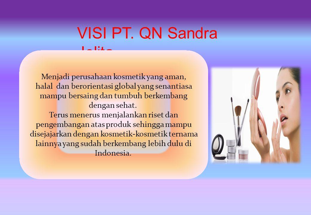 PT. QN Sandra Jelita berdiri pada tanggal 7 Agustus 2010 yang bertempat di Bandung, dibawah notaris Ibu Dieta Anggie, SH, M.Kn. Dengan bekal dan tekad