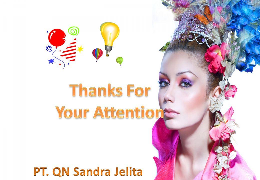 Alamat dan Contact Perusahaan PT. QN Sandra Jelita (021) 9365 9487 (022) 2203 1421 (021) 9365 9599 Jl. Setiabudhi 41 lt 3 Kota Bandung 40162 qnsandrak
