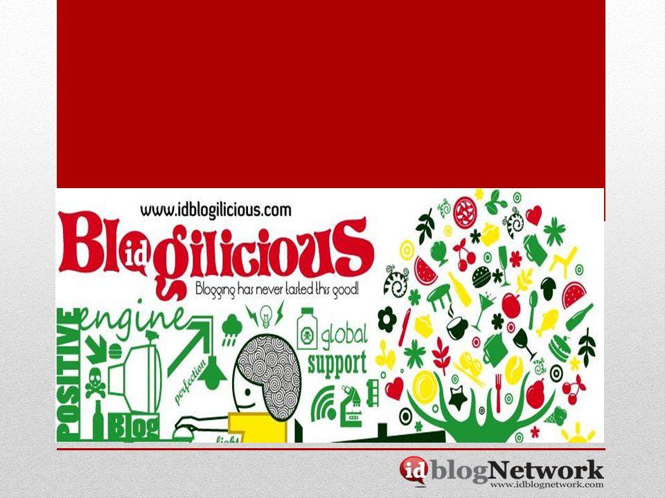 Tentang Blogilicious Blogilicious.