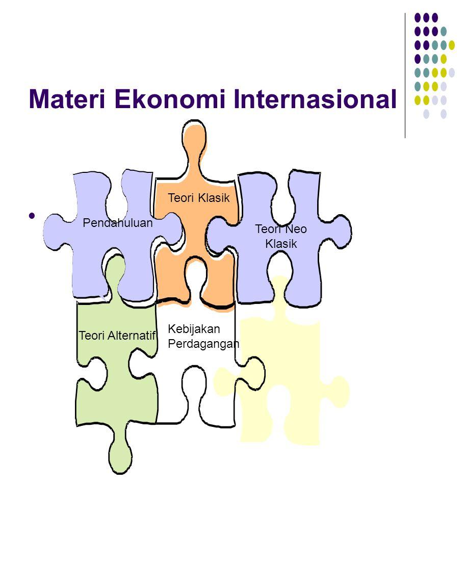Pendahuluan Ilmu Ekonomi Internasional I : cabang ilmu ekonomi yang mempelajari pengambilan keputusan dalam dalam pengunaan sumberdaya yang terbatas dalam memenuhi tujuan ekonomi.