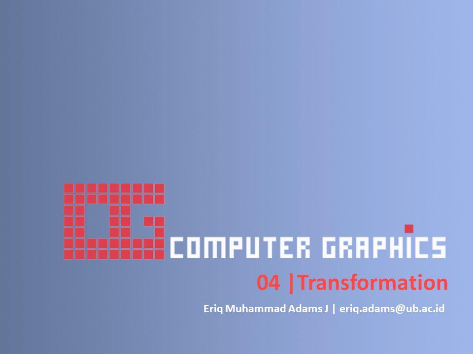 04  Transformation Eriq Muhammad Adams J   eriq.adams@ub.ac.id