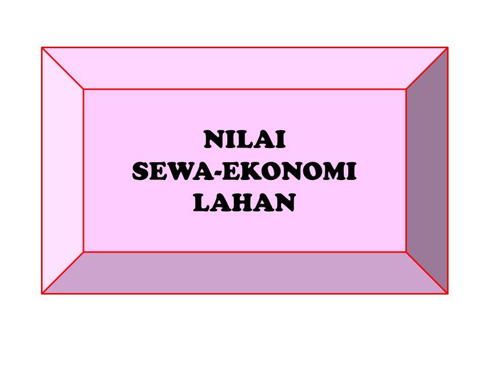 NILAI SEWA-EKONOMI LAHAN