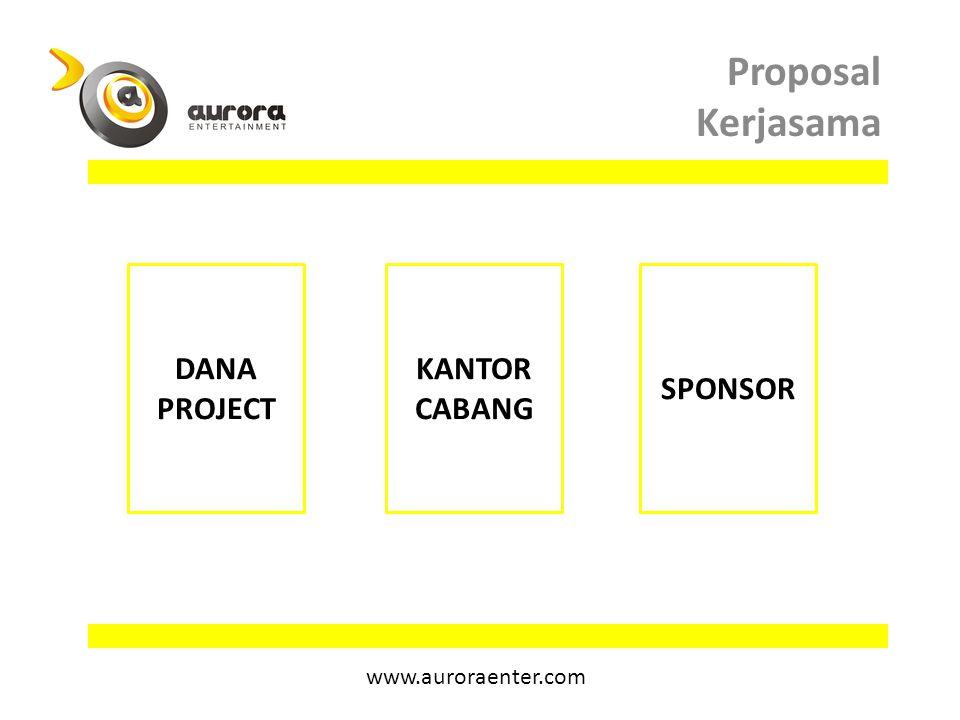 Proposal Kerjasama DANA PROJECT KANTOR CABANG SPONSOR www.auroraenter.com