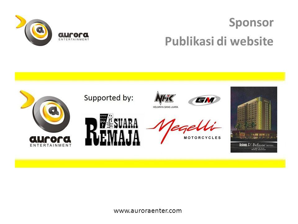 Sponsor Publikasi di website www.auroraenter.com
