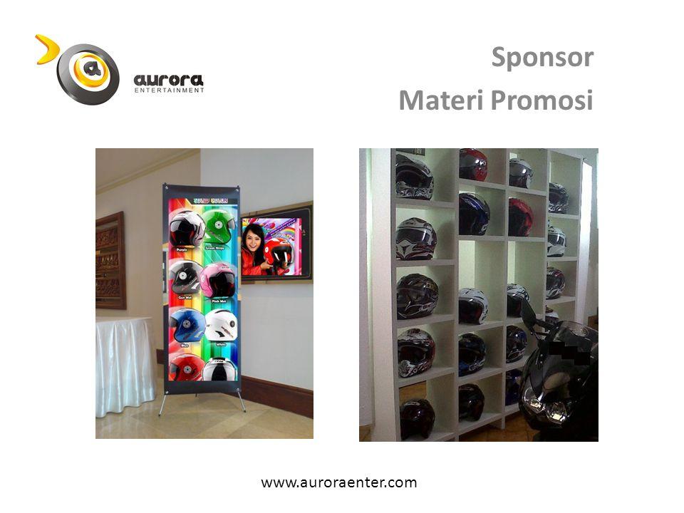 Sponsor Materi Promosi www.auroraenter.com