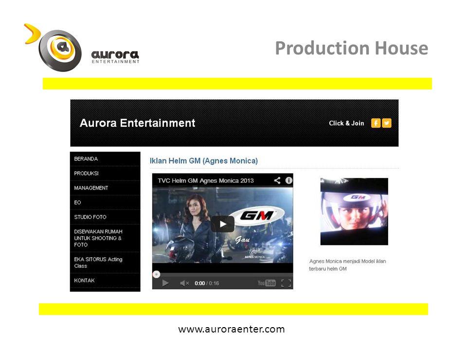 Kontak Aurora Entertainment Jl.Imam Bonjol no.