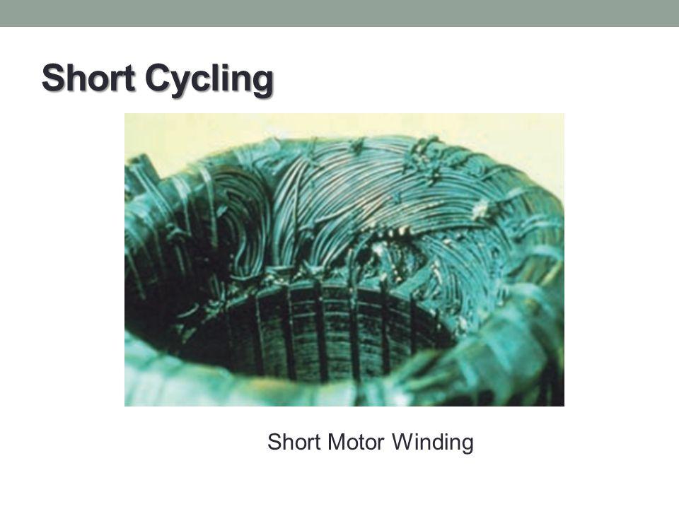 Short Cycling Short Motor Winding