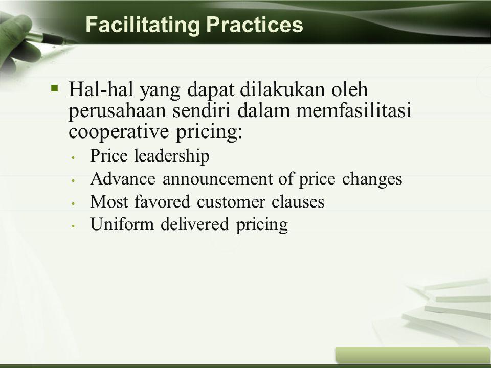 Copyright © Wondershare Software Facilitating Practices  Hal-hal yang dapat dilakukan oleh perusahaan sendiri dalam memfasilitasi cooperative pricing