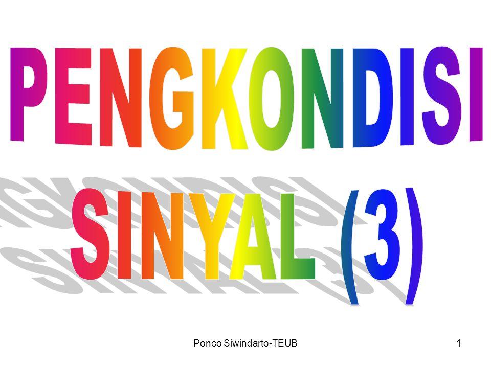 Ponco Siwindarto-TEUB22 ANALOG-TO-DIGITAL CONVERTER (ADC) Persamaan untuk ADC