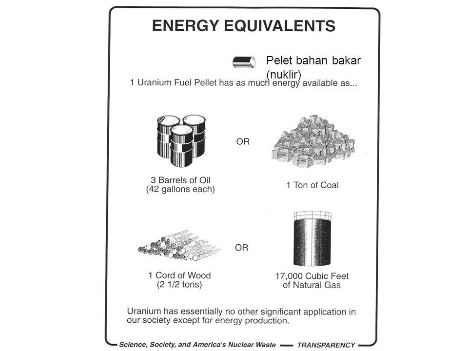 Pelet bahan bakar (nuklir)