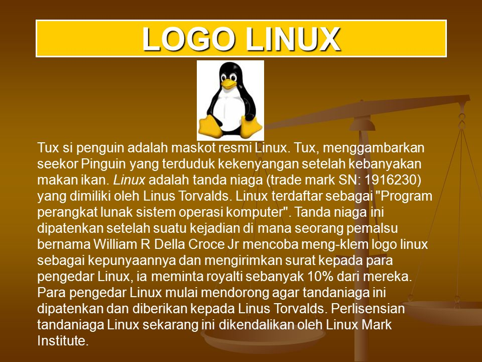 Dalam rancangan keseluruhan, Linux menyerupai implementasi UNIX non- microkernel yang lain.