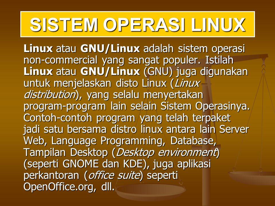 Akibat semakin berkembangnya teknologi PC, kernel Linux juga semakin lengkap dalam mengimplementasikan fungsi UNIX.