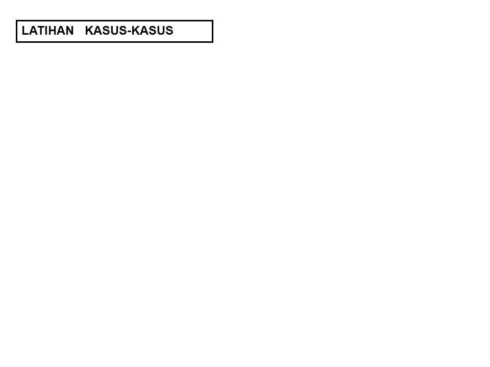 LATIHAN KASUS-KASUS