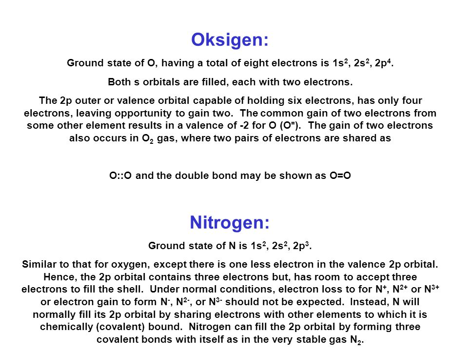 Hidrogen: Electron configuration in the ground state is 1s 1 (the first electron shell has only one electron in it), as found in H 2 gas. s shell can