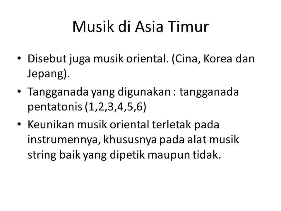 Instrumen musik Cina Kuno Gu Qin Alat musik petik yang memiliki 5 dawai.
