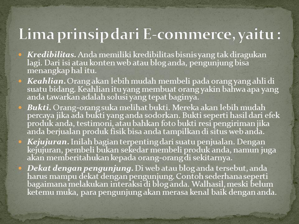 Business to Business (B2B) adalah sistem komunikasi bisnis on- line antar pelaku bisnis,. E-commerce penjual dan pembelinya adalah organisasi/perusaha