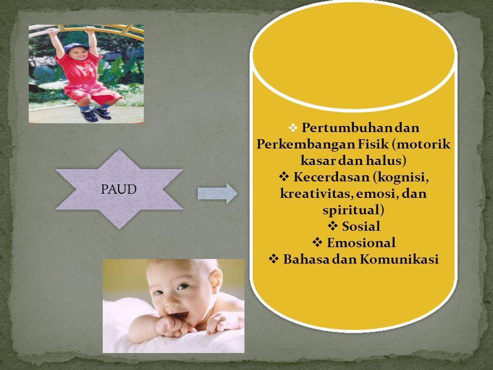 MENGAPA PAUD menjadi sangat PENTING Memegang peranan yang sangat penting dalam mengembangkan dan menyiapkan pribadi anak secara utuh dan menyeluruh. M